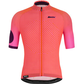 Santini Karma Mille Jersey Men, atomic orange